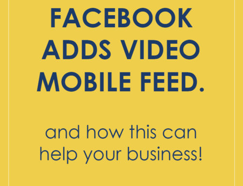 Facebook Adds Video Feed to Mobile