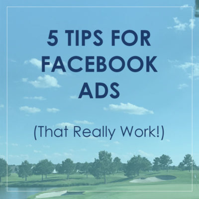5 Tips for Facebook Ads That Really Work
