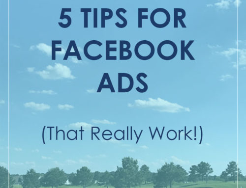 5 Tips for Facebook Ads (that actually work)